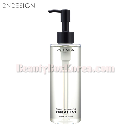2NDESIGN First Cleansing Oil Pure & Fresh 200ml,2NDESIGN