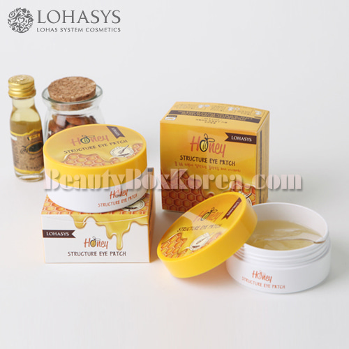 LOHASYS Honey Structure Eye Patch 60ea 100g,Other Brand