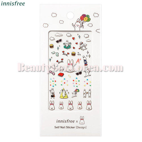 INNISFREE Self Nail Sticker - Design 1ea[Benny Collection]