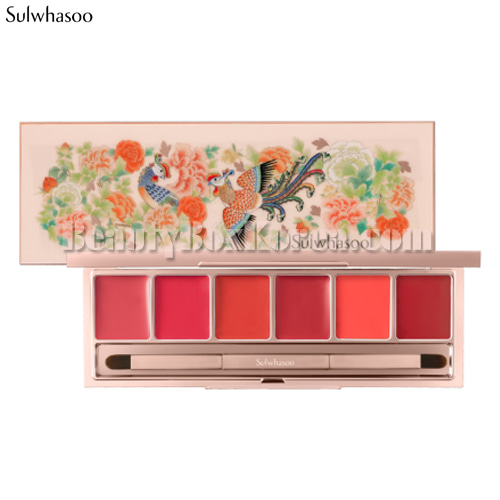 SULWHASOO luxury Lip Palette 7.2g[Phoenix Collection],SULWHASOO
