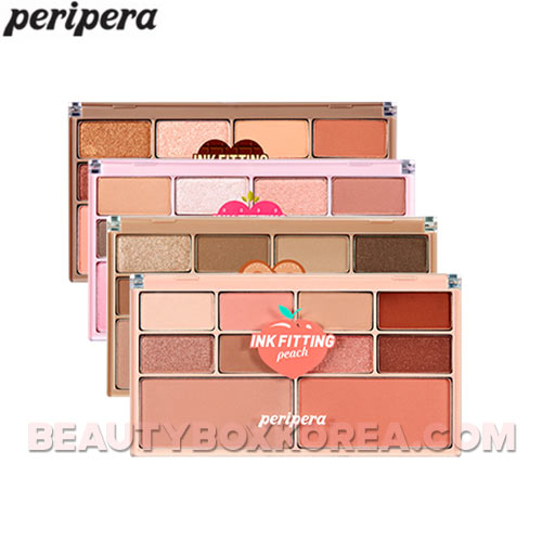 PERIPERA Ink Fitting Color Palette 1.1g*8+5g*2,PERIPERA