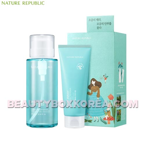 NATURE REPUBLIC Pore Away Clear Toner Special Set 2items,NATURE REPUBLIC