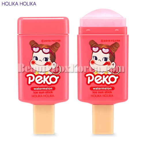 HOLIKA HOLIKA Watermelon Ice Sun Stick SPF50+ PA++++ 14g[Sweet Peko Edition],HOLIKAHOLIKA