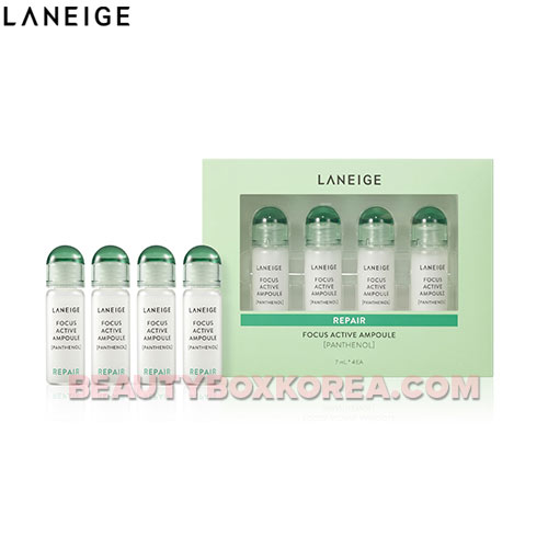 LANEIGE Focus Active Ampoule (Panthenol) 7ml*4ea