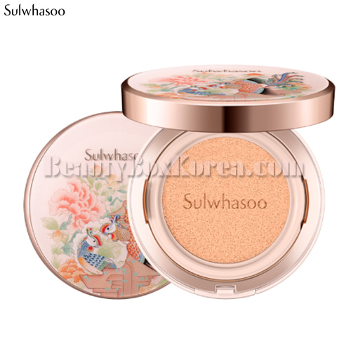 SULWHASOO Perfecting Cushion SPF50+ PA+++ 15g*2[Phoenix Collection],SULWHASOO