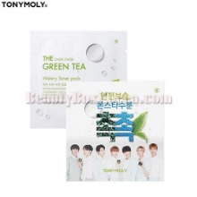 TONYMOLY The Chok Chok Green Tea Watery Toner Pack 8g*10ea,TONYMOLY
