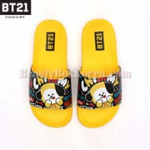 BT21 Pattern Slippers 1pair,Beauty Box Korea