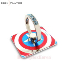 SKIN PLAYER 6Items Marvel Smart Phone Ring,SKIN PLAYER,Beauty Box Korea