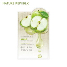 NATURE REPUBLIC Real Fresh Mask Sheet Apple 30ml, NATURE REPUBLIC