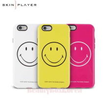 SKIN PLAYER 3Items Smiley Protect Phone Case,Beauty Box Korea