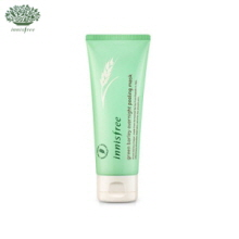 INNISFREE Green Barley Overnight Peeling Mask 100ml , INNISFREE