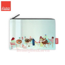 ALL NEW FRAME Cafe Pouch 1ea,Beauty Box Korea