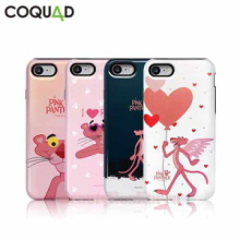 COQUAD 7Kinds Pink Panther Slim Phone Case,COQUAD,Beauty Box Korea