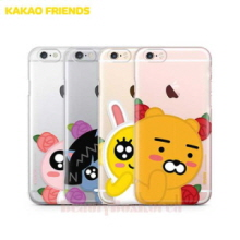 KAKAO FRIENDS 6Kinds Flower Bud Clear Jelly Phone Case,KAKAO FRIENDS,Beauty Box Korea