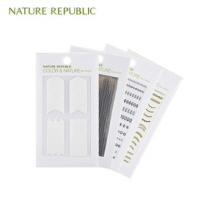 NATURE REPUBLIC Color&Nature Nail Sticker 1ea (#3,4), NATURE REPUBLIC