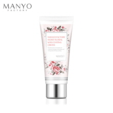 MANYO FACTORY Moist Floral Wax Coating Cream 50ml, MANYO FACTORY