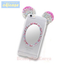 OKICASE 3 Items Cubic Mouse Mirror Jelly Phone Case,OKICASE,Beauty Box Korea