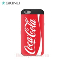 SKINU Coca Cola Card Bumper Phone Case Red,SKINU,Beauty Box Korea