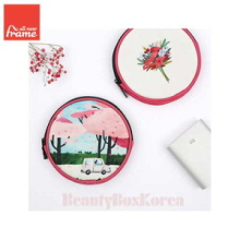 ALL NEW FRAME Circle Pouch Collection A 1ea,Beauty Box Korea