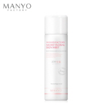 MANYO FACTORY Moist Floral Skin Mist 100ml, MANYO FACTORY