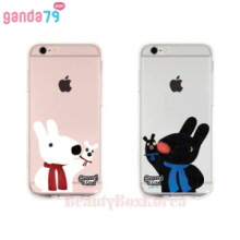 GANDA79 7Items Gaspard&Lisa Clear Jelly Phone Case,GANDA79,Beauty Box Korea