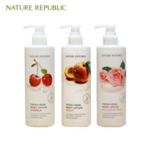 NATURE REPUBLIC Fresh Herb Body Lotion 400ml, NATURE REPUBLIC