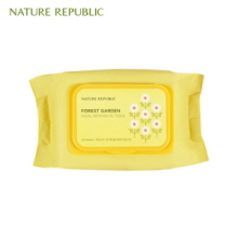 NATURE REPUBLIC Forest Garden Facial Remover Oil Tissue 60p, NATURE REPUBLIC