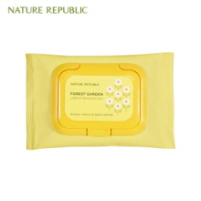 NATURE REPUBLIC Forest Garden Lip&Eye Remover Pad 40p, NATURE REPUBLIC