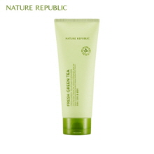 NATURE REPUBLIC Fresh Green Tea Foam Cleanser 150ml, NATURE REPUBLIC