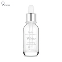 9 WISHES Perfect White Ampule Serum 25ml, 9 WISHES
