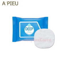A'PIEU Deep Clean Lip & Eye Remover Pad 30ea (45g)