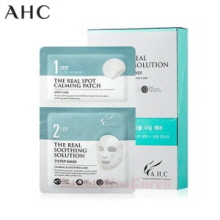 AHC The Real Soothing Solution 2-Step Mask 23ml+6ml*10ea