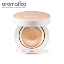 AROMATICA Natural Tinted Sun Cover Cushion SPF30 PA++(Light Beige) 15g*2ea
