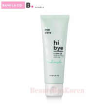 B BY BANILA Hi Bye Clean Up Mud To Foam Cleanser 120ml