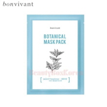 BONVIVANT Botanical Mask Pack Pore Tightening & Sebum Control Mint Tea Tree 20ml