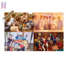 BTS Love Yourself Album Poster Only 1ea