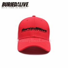 BURIEDALIVE Be Alive Logo Cap Red 1ea