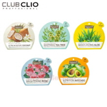 CLIO Healing Bird Botanical Face Mask 25ml*10ea