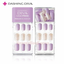 DASHING DIVA Magic Press MDR 139 Dewy Violet 1set