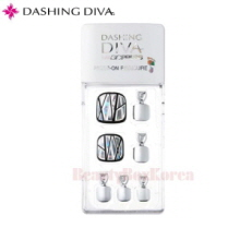 DASHING DIVA Magic Press Pedicure Prism Piece 1set