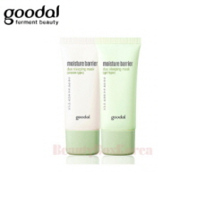 GOODAL Moisture Barrier Duo Sleeping Mask 30ml*2ea [Cream Type/Gel Type]