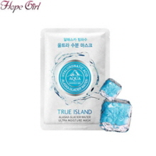 HOPEGIRL True Island Alaska Glacier Water Ultra Moist Mask 1ea, Own label brand