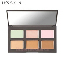 IT'S SKIN Life Color Palette Contouring 1.4g*3+1.6g*3,IT'S SKIN