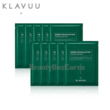 KLAVUU Green Pearlsation Teatree Care Mask 22g*10ea