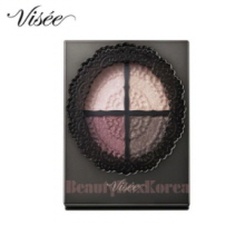 KOSE VISEE Lisee Glossy Rich Eye Shadow Palette 4.7g