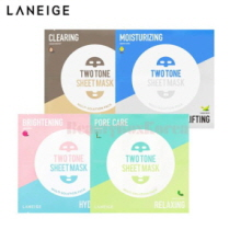 LANEIGE Two Tone Sheet Mask  28ml*5ea