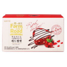LOTTE Farm on the Road Red Velvet 150g, LOTTE