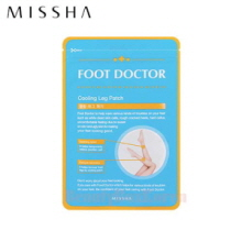 MISSHA Foot Doctor Cooling Leg Patch 8ml*4