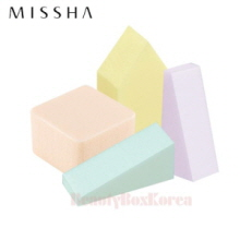 MISSHA Fresh Colorful Makeup Sponge 25pcs