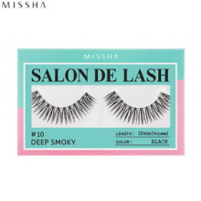 MISSHA Salon De Lash (Eyelash) #10 Deep Smoky (Black, 10mm/Volume), MISSHA
